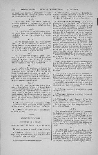 Tome 19 : Du 16 septembre au 23 octobre 1790 - page 544