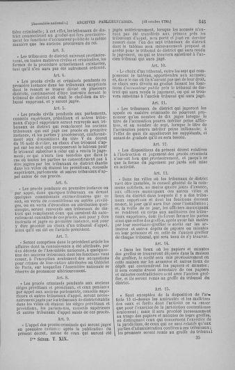 Tome 19 : Du 16 septembre au 23 octobre 1790 - page 545