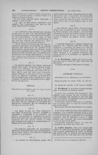 Tome 19 : Du 16 septembre au 23 octobre 1790 - page 614