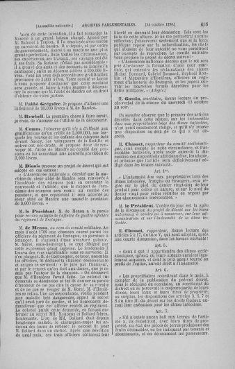 Tome 19 : Du 16 septembre au 23 octobre 1790 - page 615