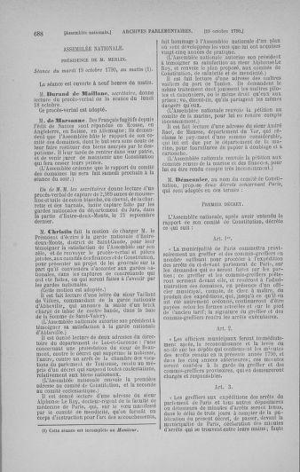 Tome 19 : Du 16 septembre au 23 octobre 1790 - page 688