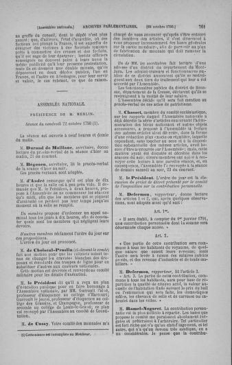Tome 19 : Du 16 septembre au 23 octobre 1790 - page 761