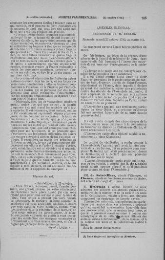 Tome 19 : Du 16 septembre au 23 octobre 1790 - page 765