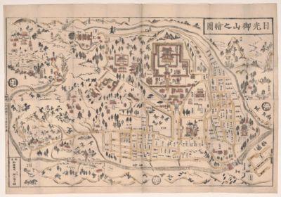Nikkō oyama no ezu