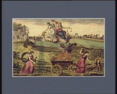 Della Francia infedel i campi ameni delle spine <em>e</em> de vepri omai disgombra Felicita che di giustzia all'ombra lieti prepara alfin giorni sereni [estampe]