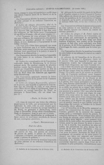Tome 59 : Du 19 février au 8 mars 1793 - page 4