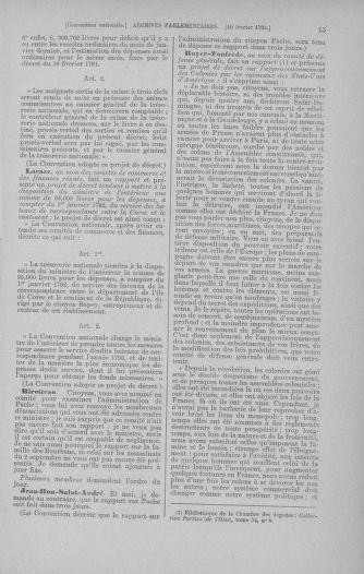 Tome 59 : Du 19 février au 8 mars 1793 - page 15