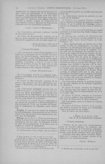 Tome 59 : Du 19 février au 8 mars 1793 - page 54
