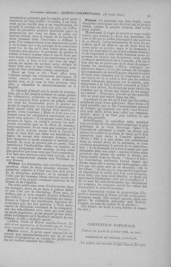 Tome 59 : Du 19 février au 8 mars 1793 - page 67