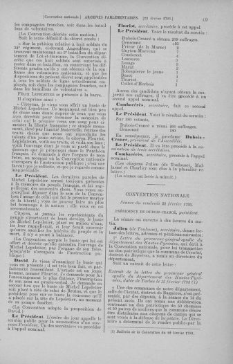 Tome 59 : Du 19 février au 8 mars 1793 - page 69