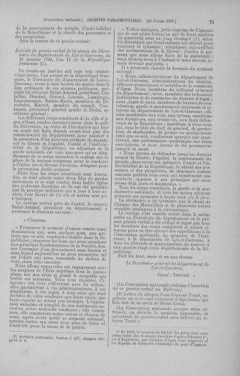Tome 59 : Du 19 février au 8 mars 1793 - page 75