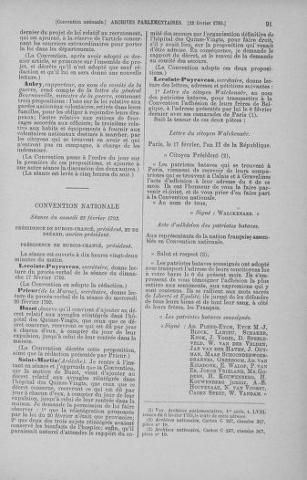 Tome 59 : Du 19 février au 8 mars 1793 - page 91