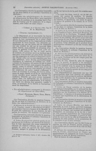 Tome 59 : Du 19 février au 8 mars 1793 - page 92