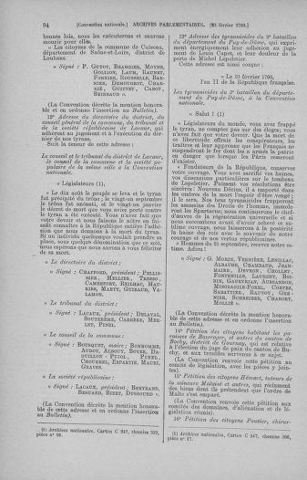 Tome 59 : Du 19 février au 8 mars 1793 - page 94