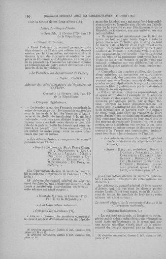 Tome 59 : Du 19 février au 8 mars 1793 - page 106