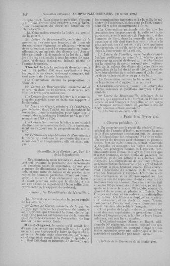 Tome 59 : Du 19 février au 8 mars 1793 - page 118