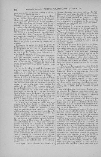 Tome 59 : Du 19 février au 8 mars 1793 - page 132