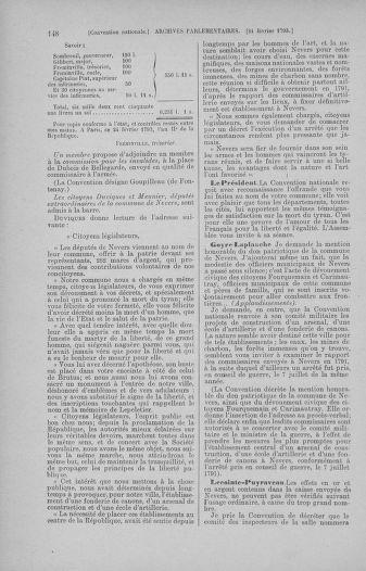Tome 59 : Du 19 février au 8 mars 1793 - page 148