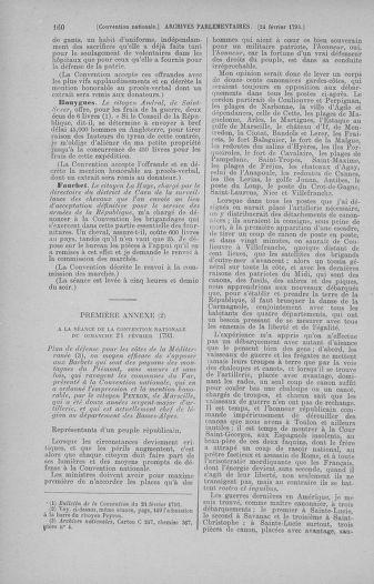 Tome 59 : Du 19 février au 8 mars 1793 - page 160