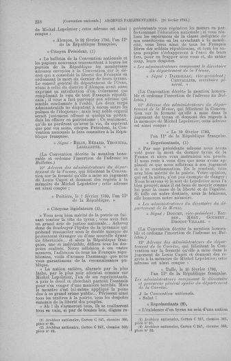 Tome 59 : Du 19 février au 8 mars 1793 - page 258