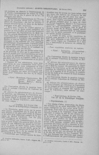 Tome 59 : Du 19 février au 8 mars 1793 - page 259