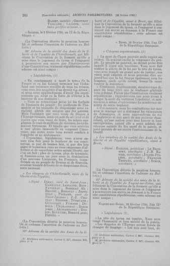 Tome 59 : Du 19 février au 8 mars 1793 - page 266