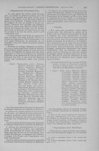 Tome 59 : Du 19 février au 8 mars 1793 - page 315