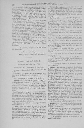 Tome 59 : Du 19 février au 8 mars 1793 - page 526