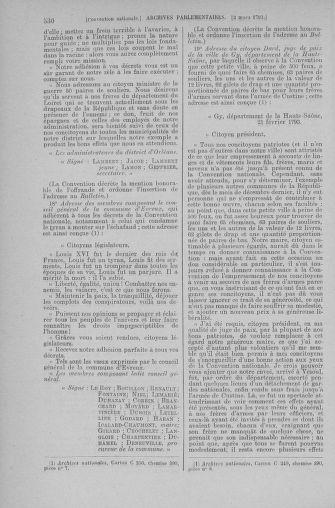 Tome 59 : Du 19 février au 8 mars 1793 - page 530