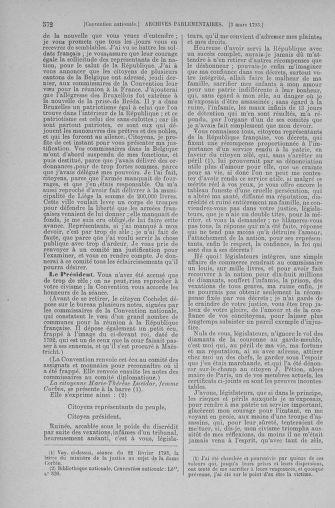 Tome 59 : Du 19 février au 8 mars 1793 - page 572