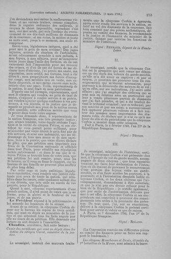 Tome 59 : Du 19 février au 8 mars 1793 - page 573