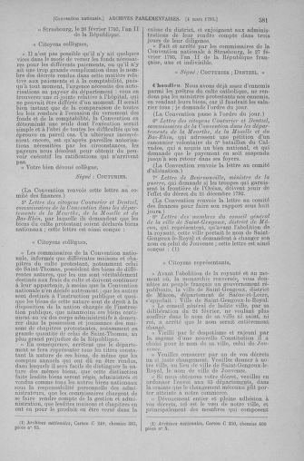 Tome 59 : Du 19 février au 8 mars 1793 - page 581