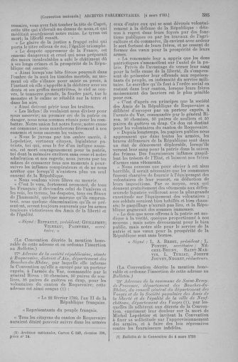 Tome 59 : Du 19 février au 8 mars 1793 - page 585