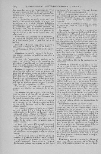 Tome 59 : Du 19 février au 8 mars 1793 - page 594
