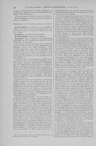 Tome 59 : Du 19 février au 8 mars 1793 - page 628