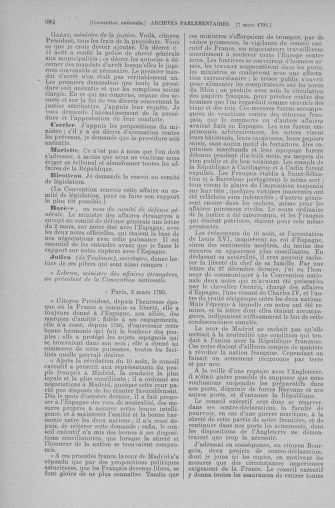 Tome 59 : Du 19 février au 8 mars 1793 - page 684