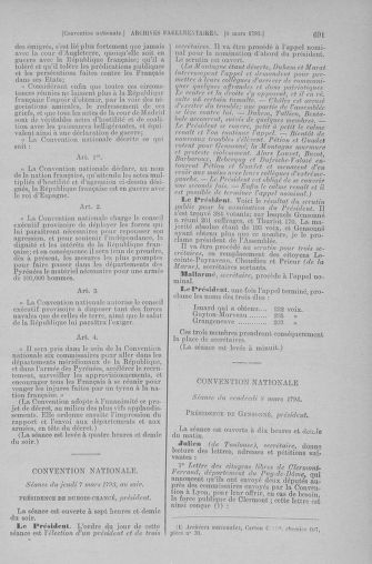 Tome 59 : Du 19 février au 8 mars 1793 - page 691