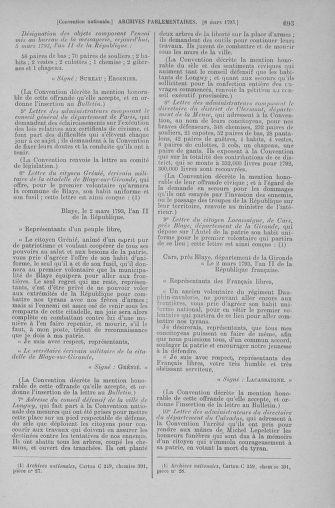 Tome 59 : Du 19 février au 8 mars 1793 - page 693