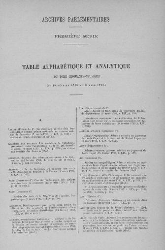 Tome 59 : Du 19 février au 8 mars 1793 - page ..