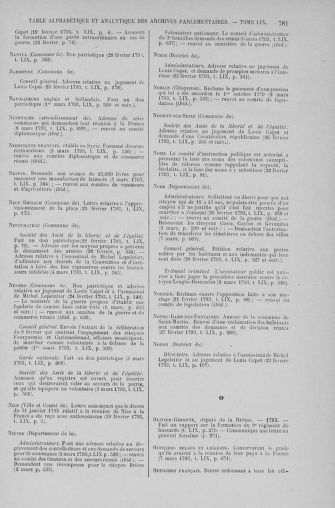 Tome 59 : Du 19 février au 8 mars 1793 - page 781