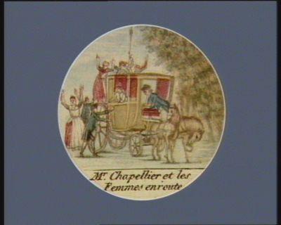 Mr Chapellier et les femmes en route [estampe]