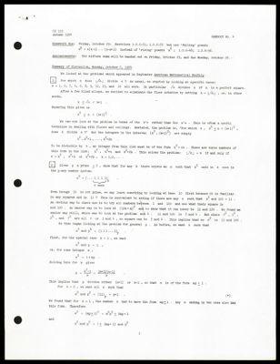 CS 155 1974 - Handout No. 4