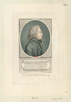 Ch. M. Talleyrand-Périgord ancien evêque d'Autun député à l'Assemblée natio.le et administrateur du département de Paris : [estampe]