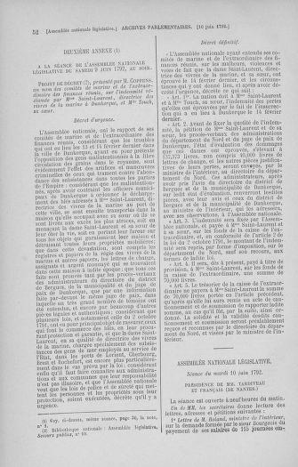 Tome 45 : Du 9 au 30 juin 1792 - page 52