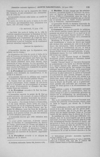 Tome 45 : Du 9 au 30 juin 1792 - page 135