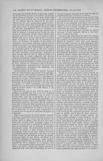 Tome 45 : Du 9 au 30 juin 1792 - page 174