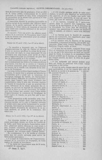 Tome 45 : Du 9 au 30 juin 1792 - page 193