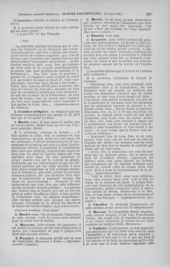 Tome 45 : Du 9 au 30 juin 1792 - page 223