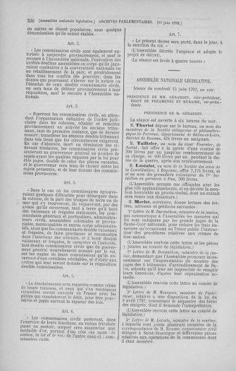 Tome 45 : Du 9 au 30 juin 1792 - page 236