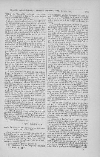 Tome 45 : Du 9 au 30 juin 1792 - page 273
